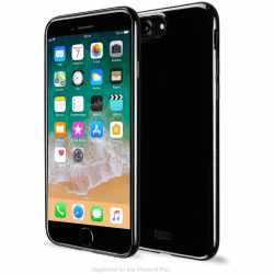 Artwizz NoCase für iPhone 8 Plus 7 Plus TPU Schutzhülle schwarz - neu