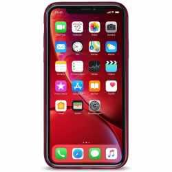Artwizz NoCase Schutzhülle Case für iPhone XR rot - neu
