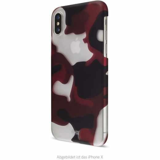 Artwizz Camouflage Clip Schutzhülle für iPhone XR camouflage rot - neu