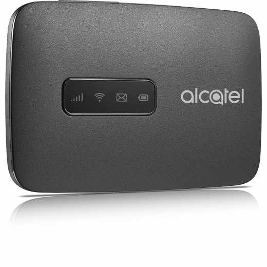 ALCATEL LinkZone Mobile Internet 150 Mbps Wifi Hotspot 4G LTE cat4 schwarz - neu