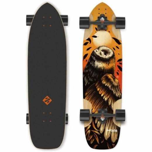 Street Surfing Freeride 36 Skateboard Longboard Freestyle OWL - neu