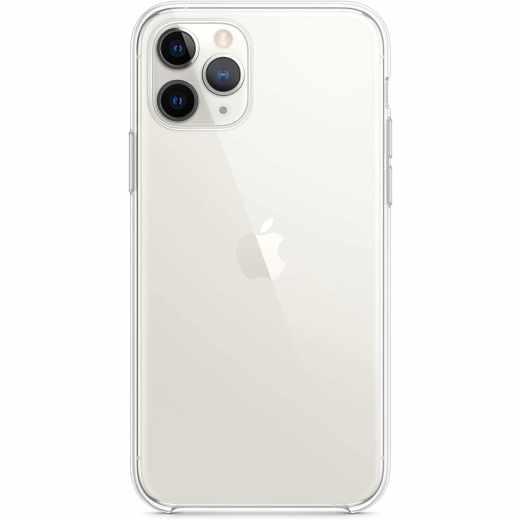 Apple Clear Case für iPhone 11 Pro Silikon Case Schutzhülle klar