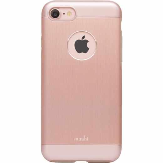 Moshi Armour Schutzhülle Handyhülle iPhone 7 Rose Gold - neu