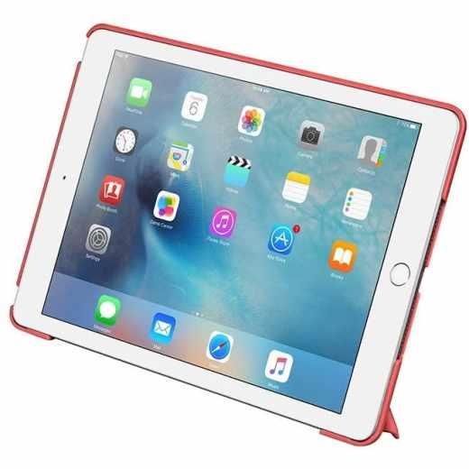 LAUT Trifolio Tablethülle für iPad 9,7 Zoll 2017, 2018 Schutzhülle rot - neu