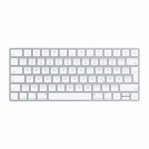 Apple Magic Keyboard Tastatur Multimediatasten Bluetooth silber - wie neu
