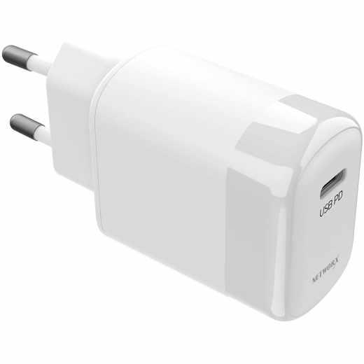 Networx Basic USB-C PD 30W Netzteil Ladegerät weiß