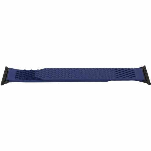 Networx Watch Silikonarmband für Apple Watch 42/44 mm blau/schwarz
