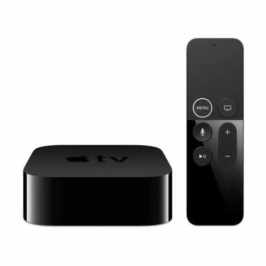 Apple TV 32 GB 4. Generation mit Siri Remote Fernbedienung schwarz - wie neu