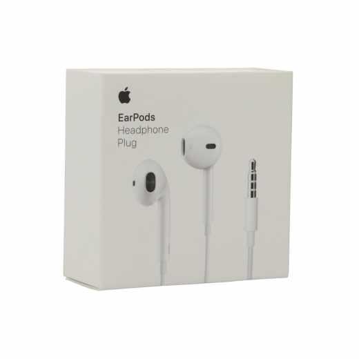 Apple EarPods Headset InEar-Kopfhörer Mikrofon kabelgebunden weiß - wie neu