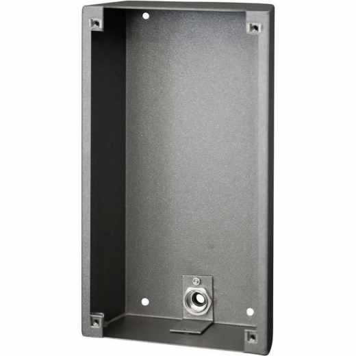 Behnke myintercom myi0100  Aufputz-Gehäuse für Video-Türsprechanlage grau - wie neu