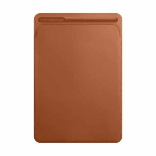 Apple Leather Sleeve iPad Pro 10,5 Zoll Lederhülle Eingabestifthalter braun - sehr gut