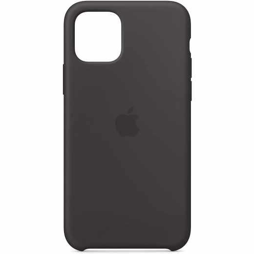 Apple iPhone 11 Pro Silikon Case Schutzhülle schwarz - neu