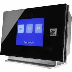 Dual DAB 3A Digitalradio-Adapter mit Fernbedienung Bluetooth schwarz - sehr gut