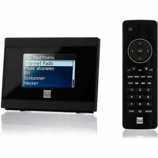 Dual IR 2A Internetradio Adapter für Stereoanlage Fernbedienung schwarz - sehr gut