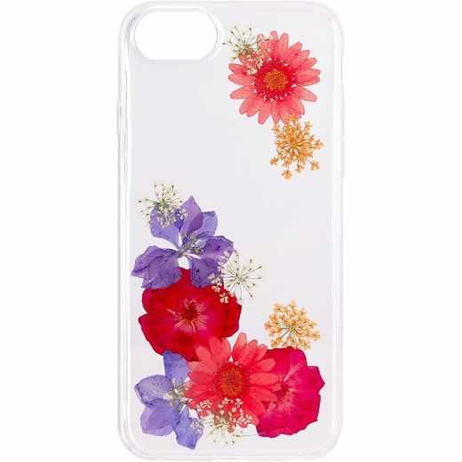 FLAVR iPlate Real Flower Ella Schutzhülle für iPhone 6/6s/7 klar - neu
