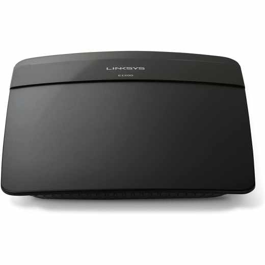 Linksys E1200 Wireless-N 300 Router schwarz - wie neu