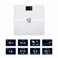 Nokia Body+ Körperwaage WLAN Körperanalyse Gewichtsmessungen BMI weiß - wie neu