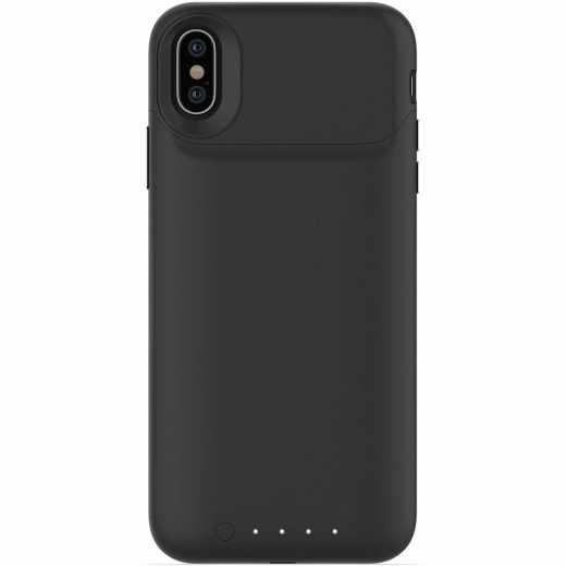 Mophie Juice Pack Air Powerbank für iPhone X und XS Ladegerät kabellos schwarz