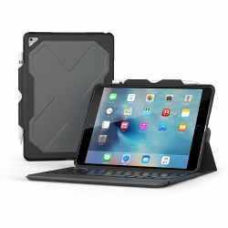 ZAGG Rugged Messenger Schutzhülle Tastatur für iPad Pro 10.5 Zoll DE schwarz