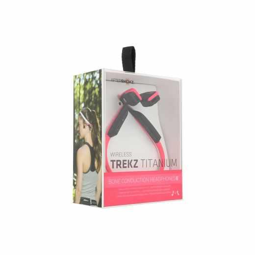 Aftershokz Trekz Titanium Wireless Kopfhörer Headset pink - wie neu