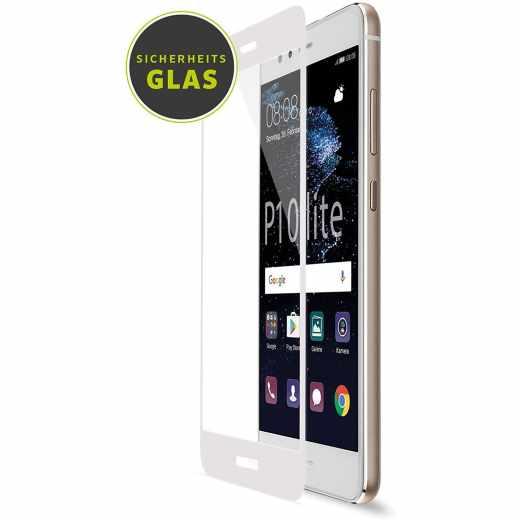 Artwizz CurvedDisplay Sicherheitsglas Displayschutz für Huawei P10 lite weiß