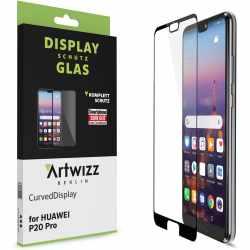 Artwizz CurvedDisplay Sicherheitsglas für Huawei P20 Pro transparent