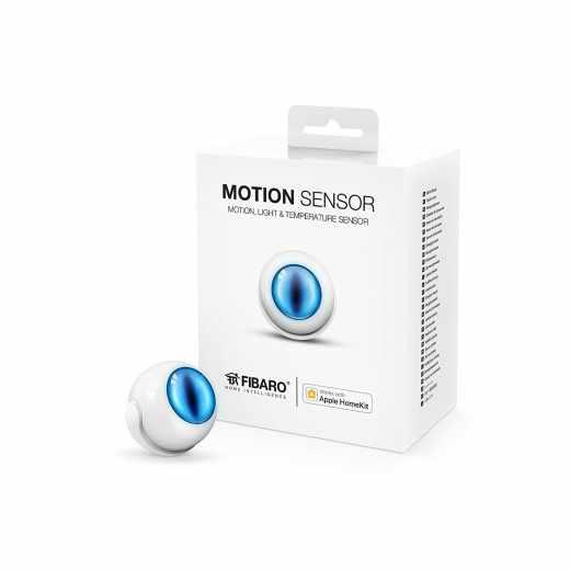 Fibaro Motion Sensor Apple Homekit Bluetooth Augenförmige LED weiß - wie neu