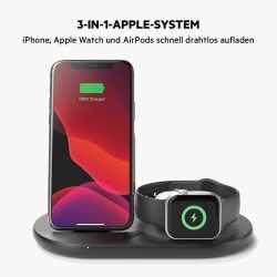 Belkin 3-in-1 Wireless Ladestation für Apple Watch...
