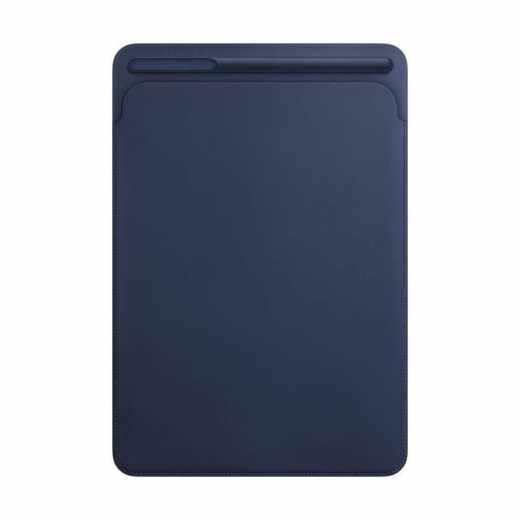 Apple Leather Sleeve Schutzhülle für iPad Pro 10,5 Zoll mit Stifthalter blau - sehr gut