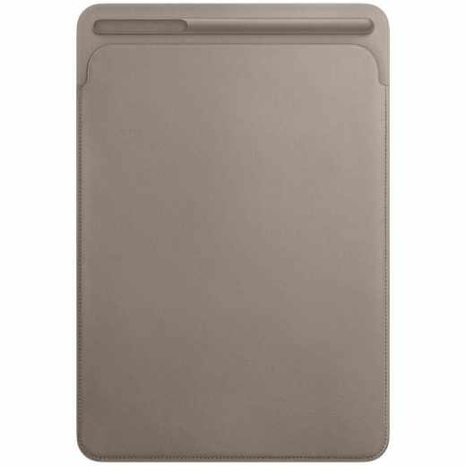 Apple Leather Sleeve Leder Tablethülle für iPad 10,5 Zoll taupe grau - sehr gut