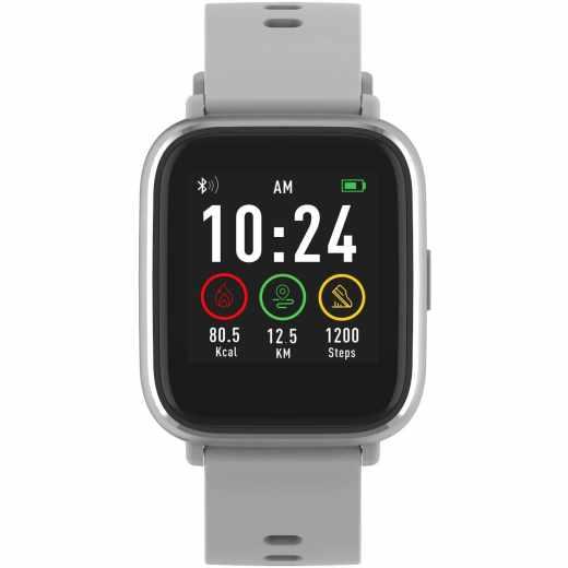 Denver Smartwatch SW-161 Fitnessuhr Aktivitätstracker grau - sehr gut