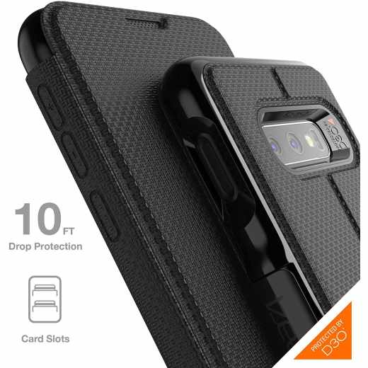 GEAR4 Oxford Schutzhülle für Samsung Galaxy S10e schwarz - neu