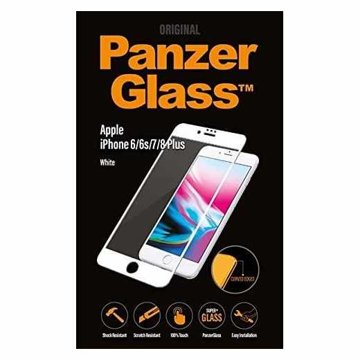 PanzerGlass Displayschutz Premium für iPhone 6+/6s+/7+ weiß - neu