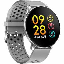 Denver Bluetooth Smartwatch Fitnessuhr grau - sehr gut