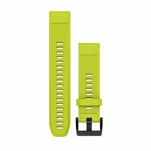 Garmin QuickFit Ersatzarmband Silikon 22 mm Wechselarmband gelb - sehr gut