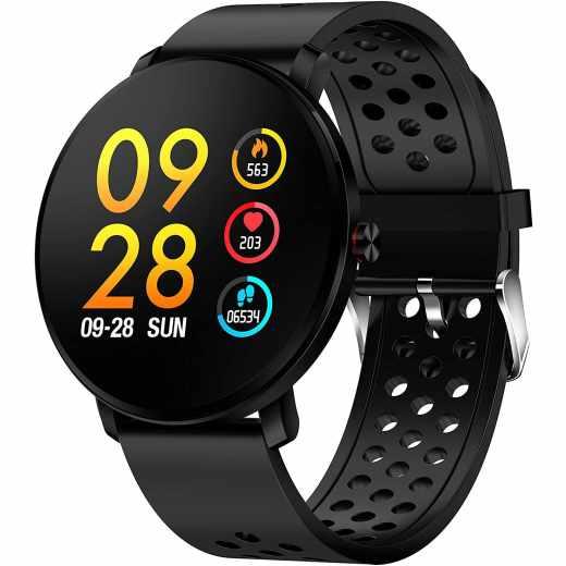 Denver Bluetooth Smartwatch SW-171 Fitnesstracker schwarz - sehr gut