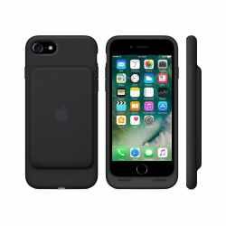 Apple Smart Battery Case Apple iPhone 7 Lightning Schutzhülle schwarz - wie neu
