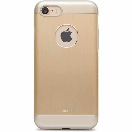 moshi Cover iGlaze Amour Schutzhülle für iPhone 8 gold - neu