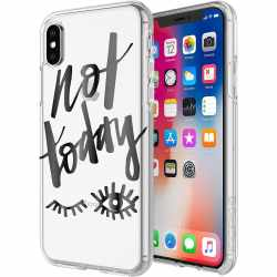 Incipio Not Today Schutzhülle für iPhone X und...