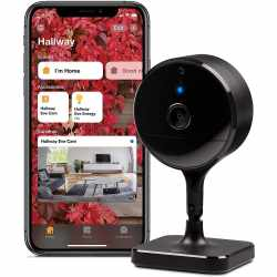 Eve Cam Indoor Smarte Kamera mit Bewegungsmelder schwarz...