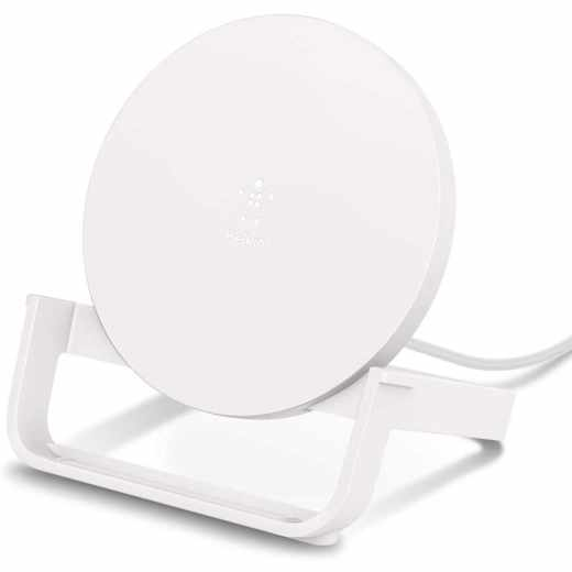 Belkin Boost Up Wireless Stand 10W Ladestation Ladeständer weiß - sehr gut