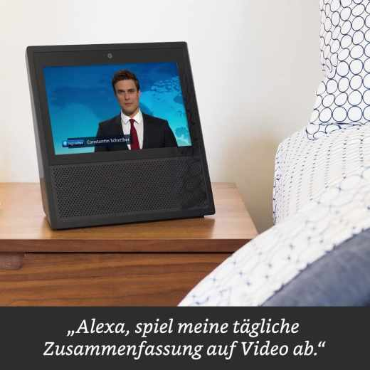 Amazon Alexa Sprachassistent Echo Show Smart Speaker 7 Zoll Lautsprecher weiß - neu