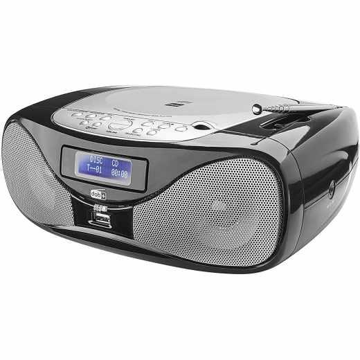 Dual DAB-P 160 Radio Digitalradio CD Player Boombox schwarz - sehr gut