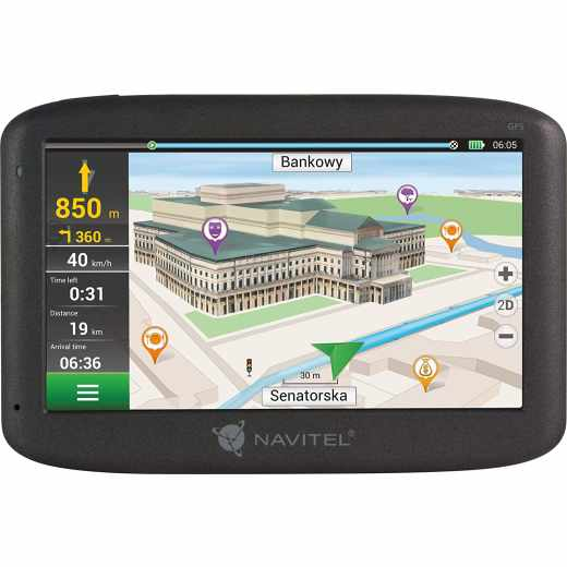 Navitel E500 Navigationsgerät PKW-Navi Navigationssystem 5 Zoll schwarz - wie neu