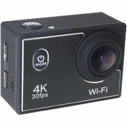 Denver 4K Actioncam Sportkamera Helmkamera Video schwarz...