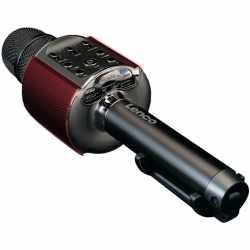 Lenco BMC-090 Karaoke Mikrofon Speaker mit LED...