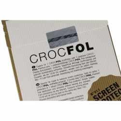 Crocfol Display Schutz Schutzfolie Coupon 5 Universal - neu