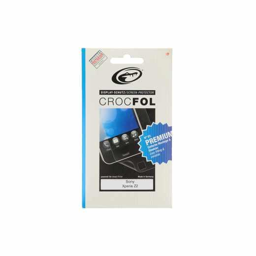 Crocfol Display-Schutz Schutzfolie  (2Stk.) Premium Sony Xperia Z2