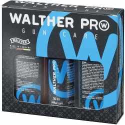WALTHER Pro Gun Care Set Hochwertiges Pflegeset Leder...
