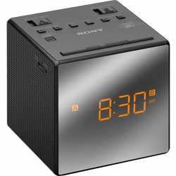 SONY Uhrenradio mit LED Display Radiowecker schwarz